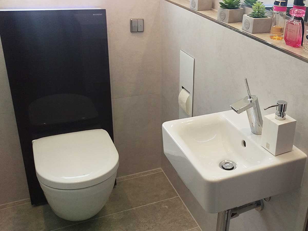 Gäste WC in Sulz – Bad & Heizung Lang GmbH